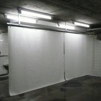 Waschplatzvorhang