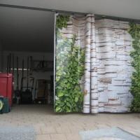 digitalbedruckter Vorhang